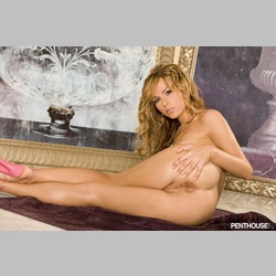 Blonde-Crystal-Klein-from-Penthouse-Wearing-Pink-Heels-1.jpg
