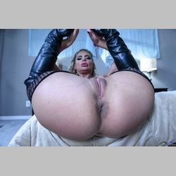 Blonde-Phoenix-Marie-Black-String-Fishnets-Boots-in-Bed-from-Brazzers